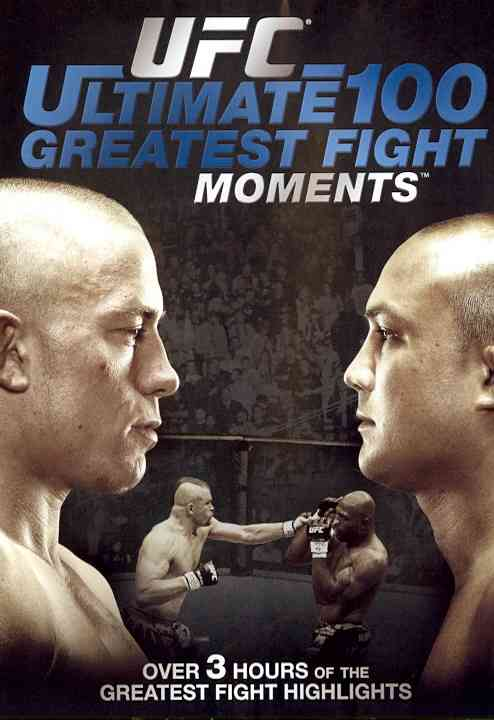 UFC:ULTIMATE 100 GREATEST FIGHT MOMEN (DVD)