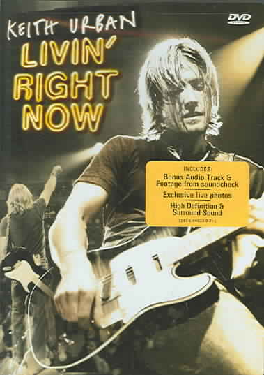 LIVIN RIGHT NOW BY URBAN,KEITH (DVD)